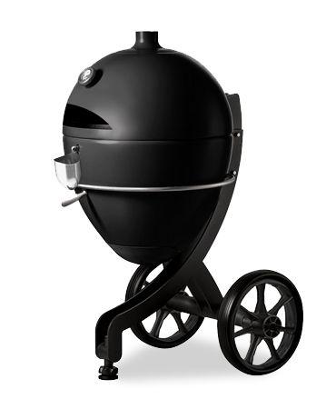 Barbecue à granulés POB PBQ couleur noir fond blanc ferme