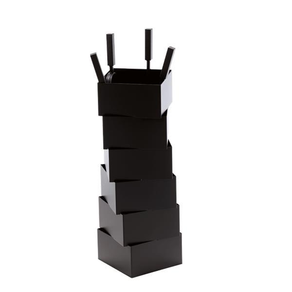 Serviteur TORSION Acier - Noir givré Référence : 002.10316N3