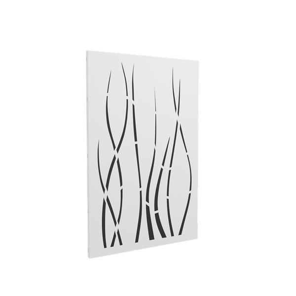 Protection murale Ondulis - Blanc mat