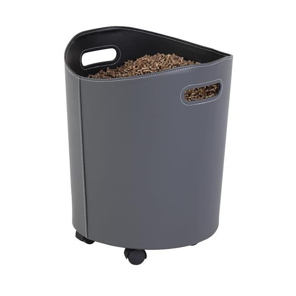 Corbeille à granulés OMEGA Gris/noir