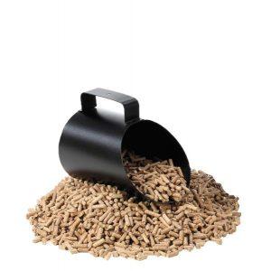 Pelle à granulés PELLEO Noir givré