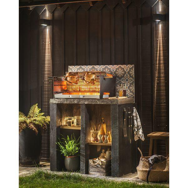 Barbecue Invicta Alexandrie charbon ambiance