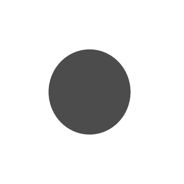 Plaque de sol Ronde - Gris sablé